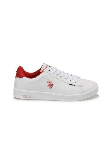 U.S. Polo Assn. Franco Wmn 1Fx Kadın Sneaker Ayakkabı Beyaz